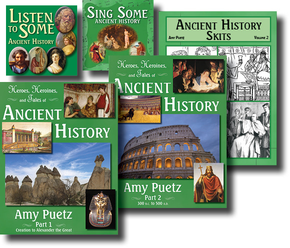 Heroes, Heroines, and Tales of Ancient History Digital Version
