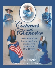 Costumes with Character Printed Book